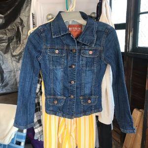 Super cute new jean jacket!